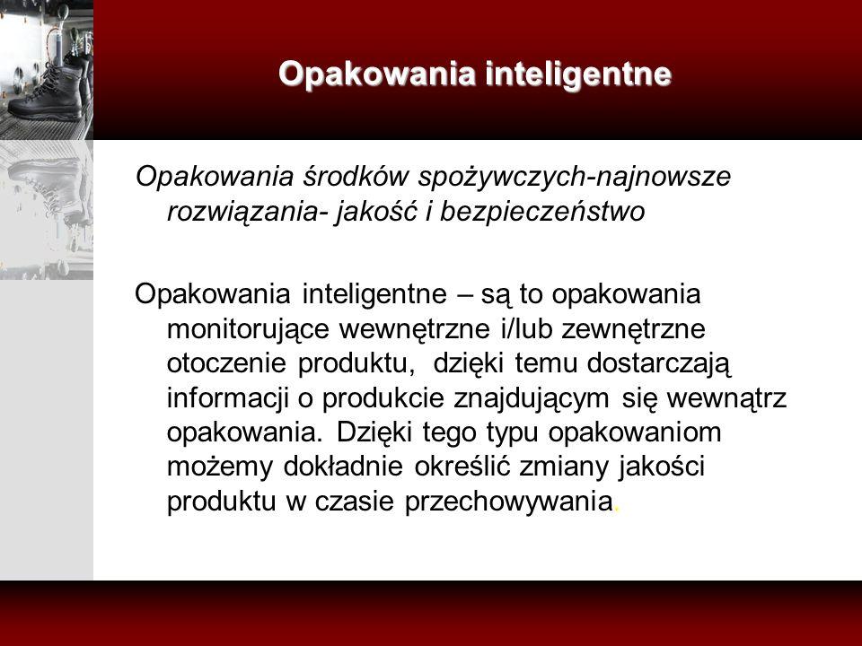 Opakowania inteligentne