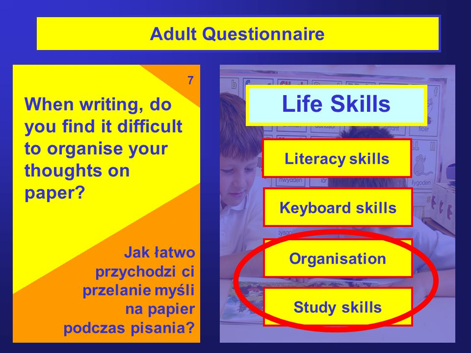 Life Skills Adult Questionnaire