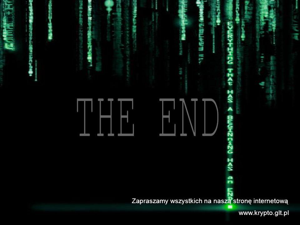 THE END Zapraszamy wszystkich na naszą stronę internetową