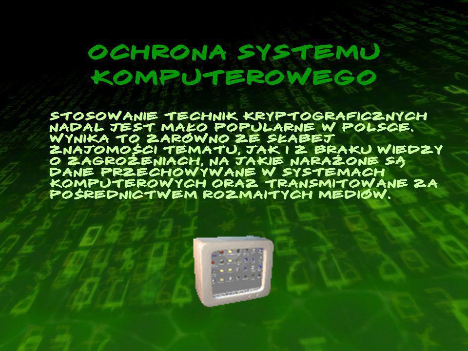Ochrona systemu komputerowego