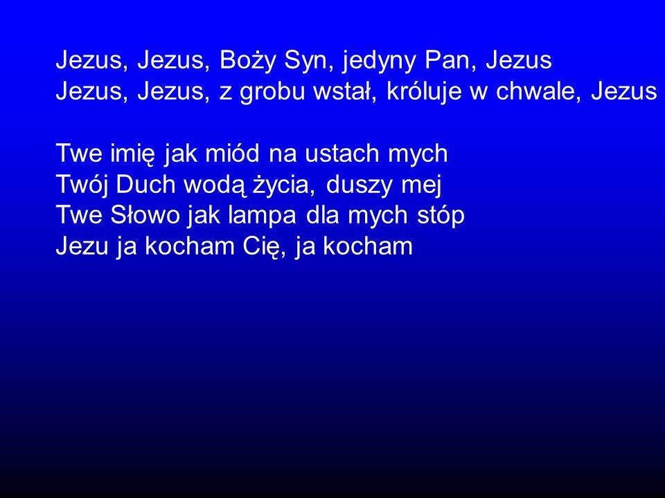 Jezus, Jezus, Boży Syn, jedyny Pan, Jezus