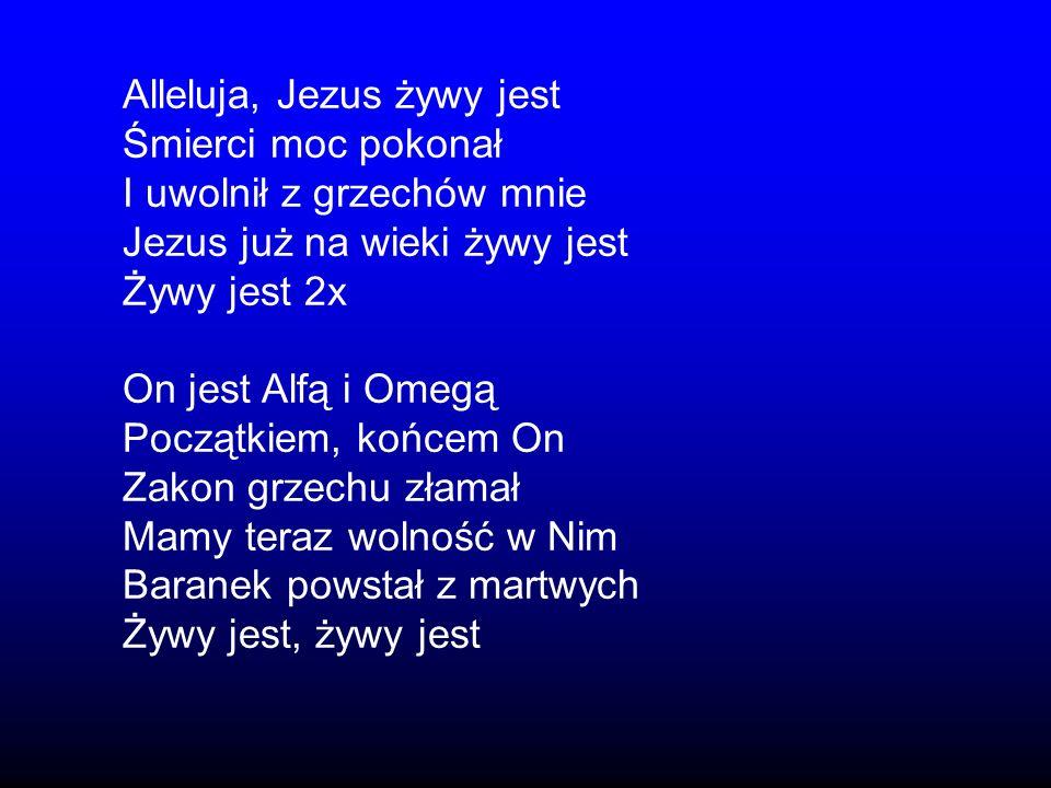 Alleluja, Jezus żywy jest