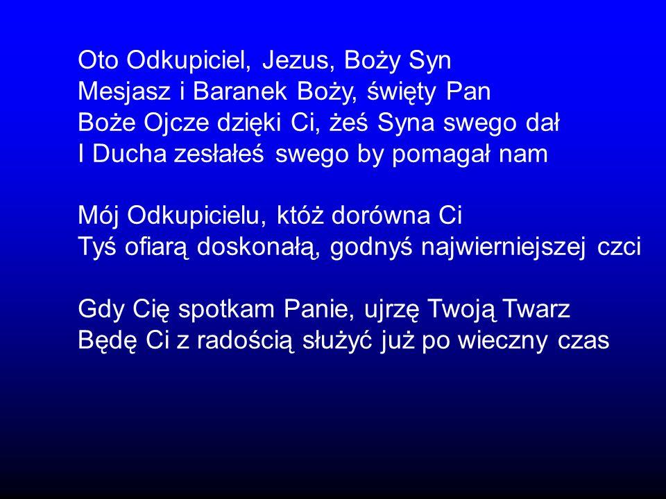 Oto Odkupiciel, Jezus, Boży Syn