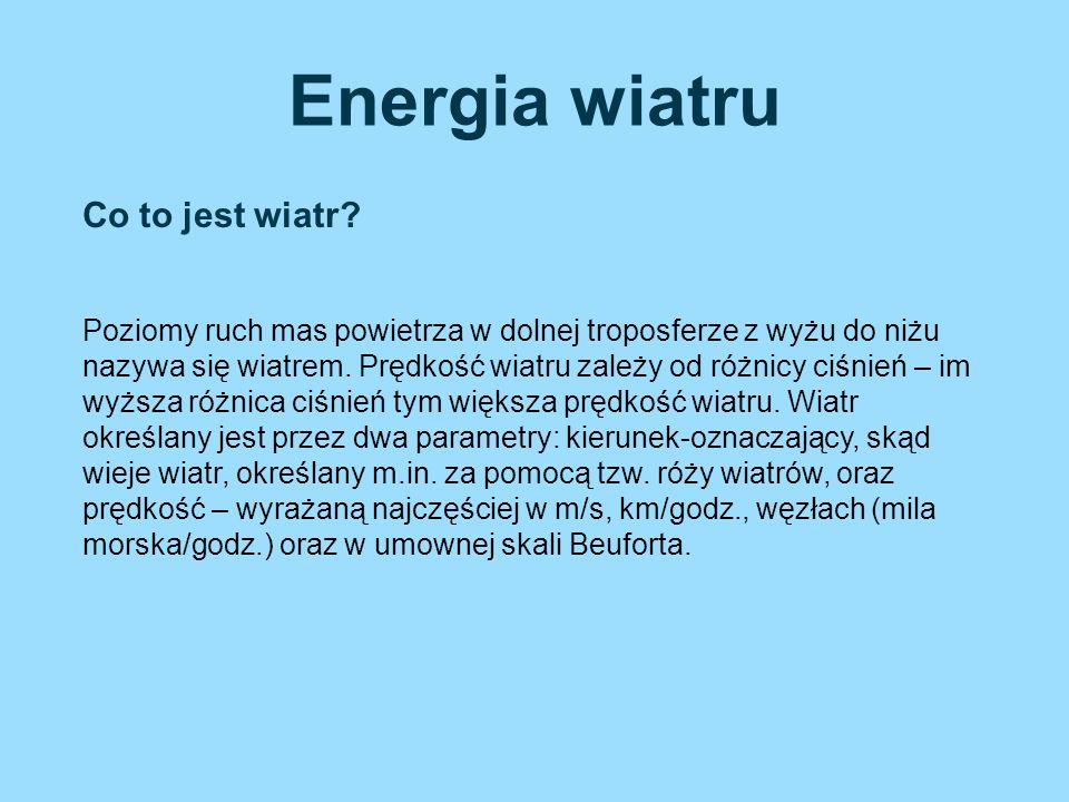 Energia wiatru Co to jest wiatr