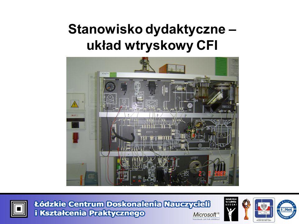 Stanowisko dydaktyczne – układ wtryskowy CFI