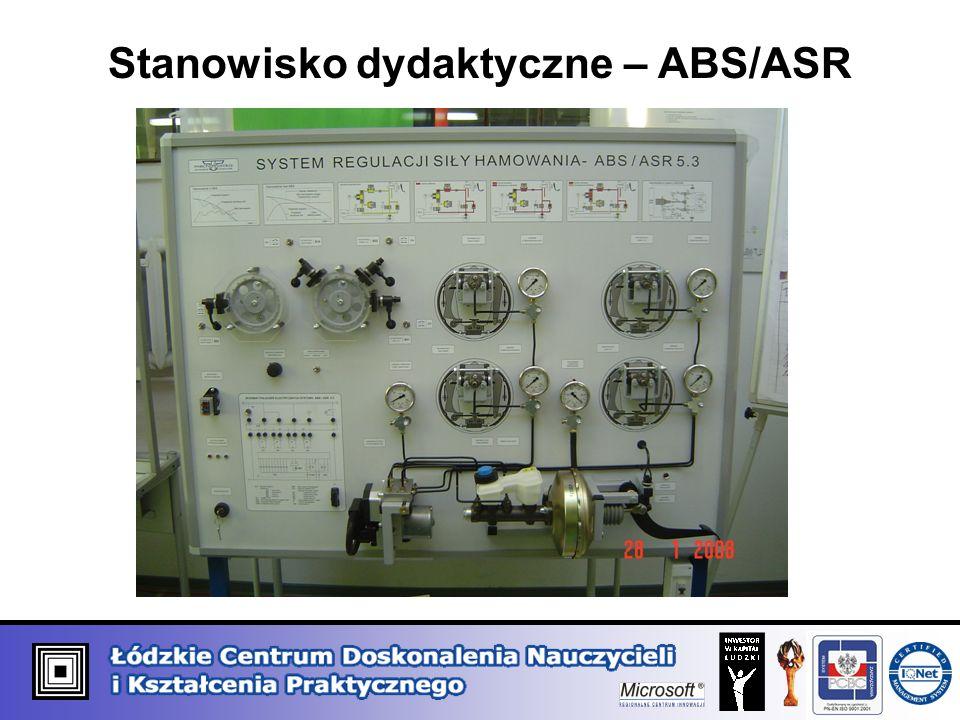 Stanowisko dydaktyczne – ABS/ASR