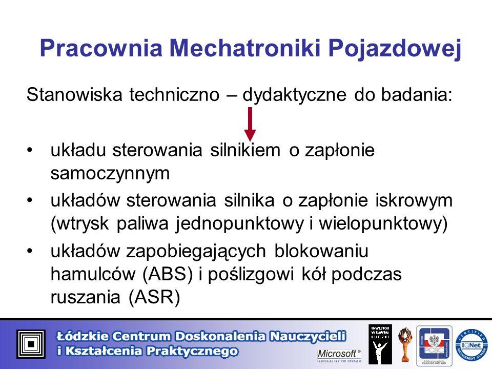 Pracownia Mechatroniki Pojazdowej