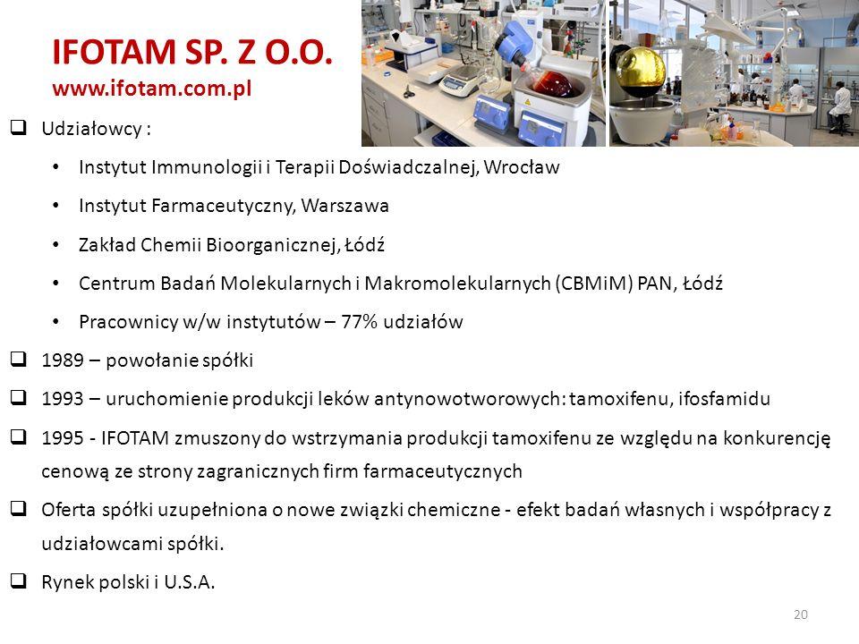 IFOTAM SP. Z O.O. www.ifotam.com.pl