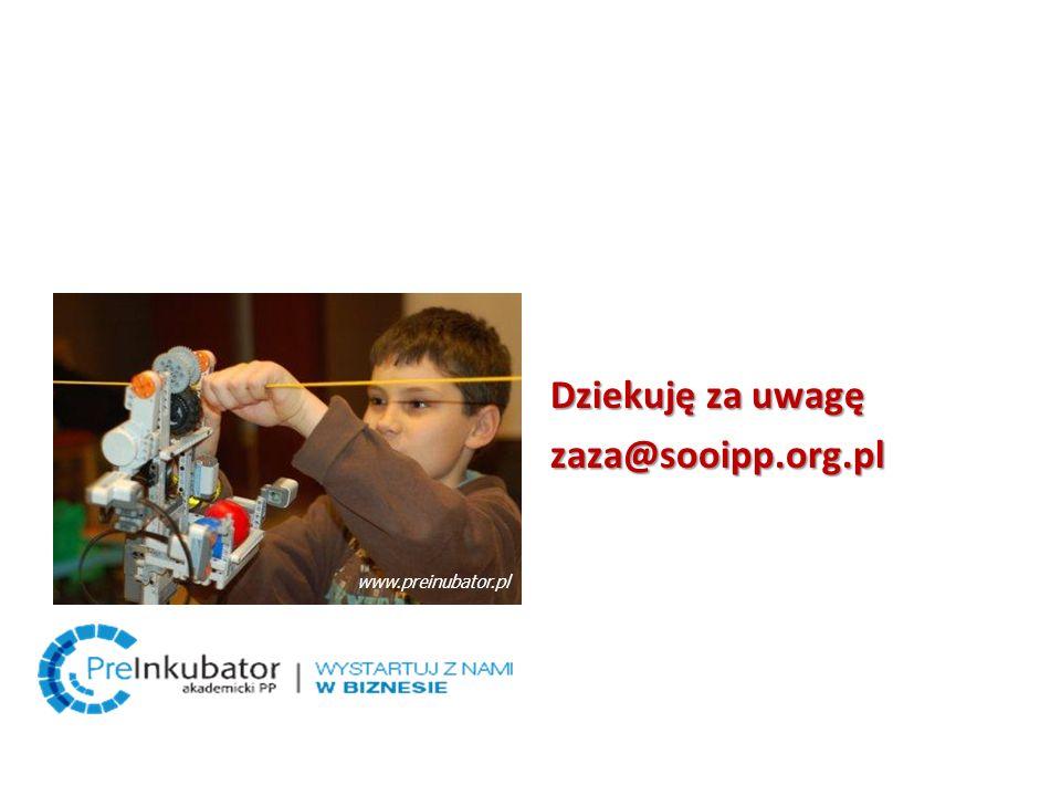 Dziekuję za uwagę zaza@sooipp.org.pl