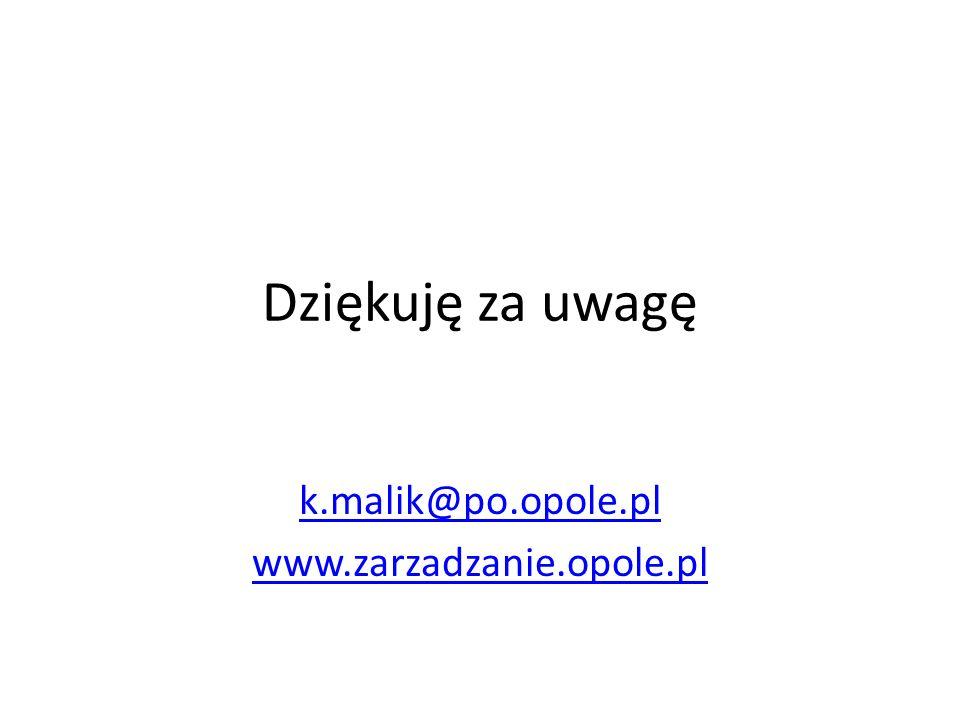 k.malik@po.opole.pl www.zarzadzanie.opole.pl