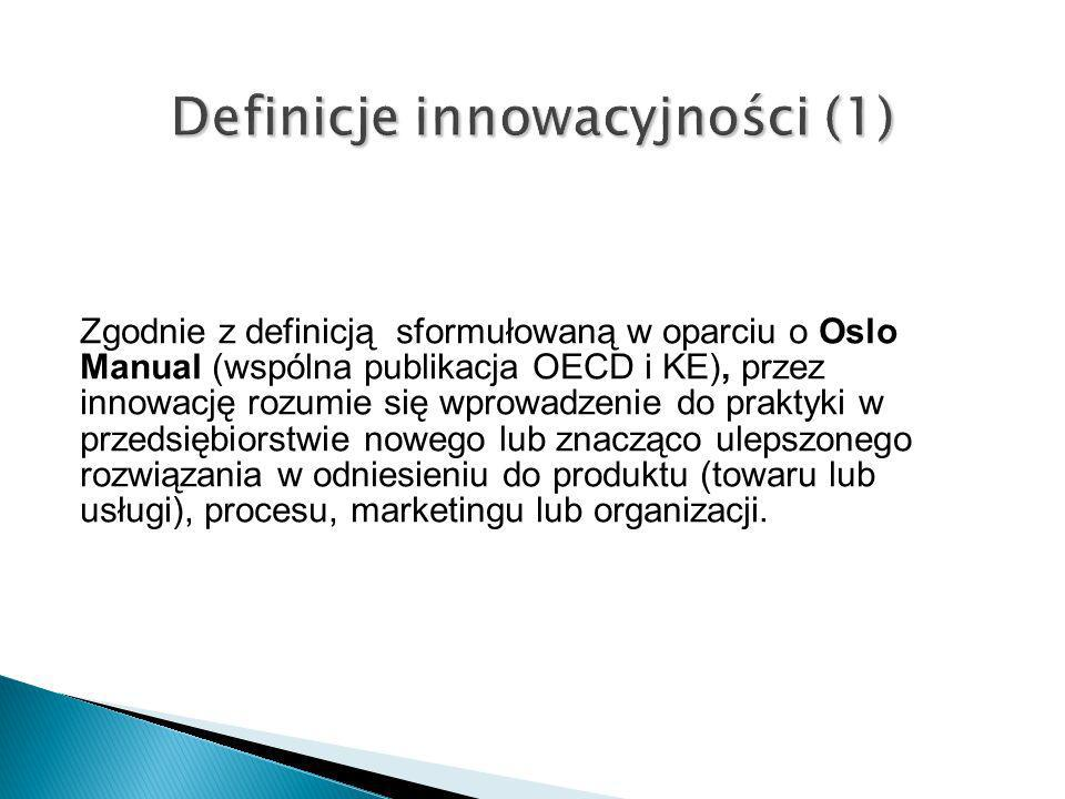 Definicje innowacyjności (1)