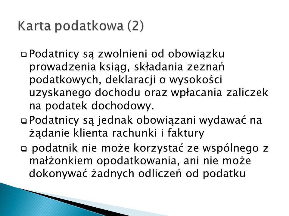 Karta podatkowa (2)