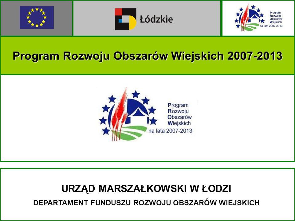 Program Rozwoju Obszarów Wiejskich 2007-2013