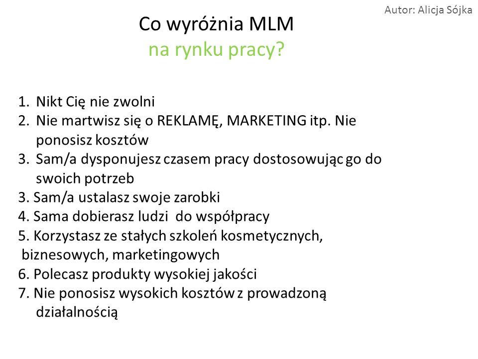 Co wyróżnia MLM na rynku pracy