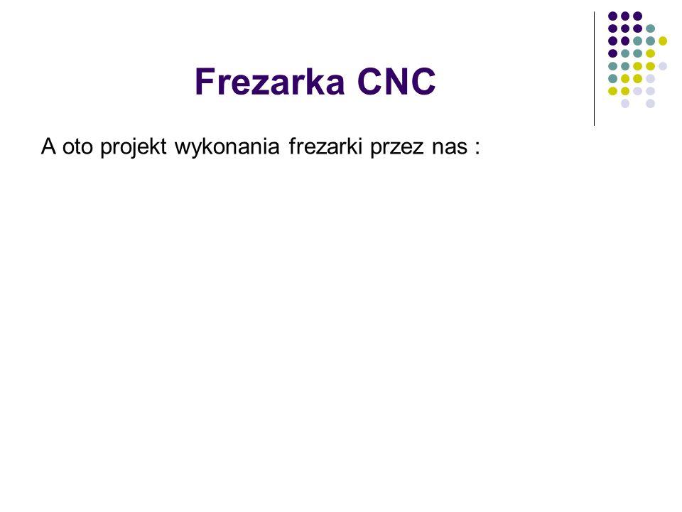 Frezarka CNC A oto projekt wykonania frezarki przez nas :