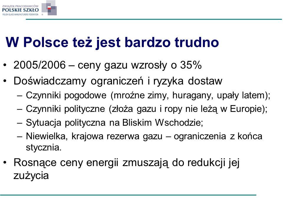 W Polsce też jest bardzo trudno