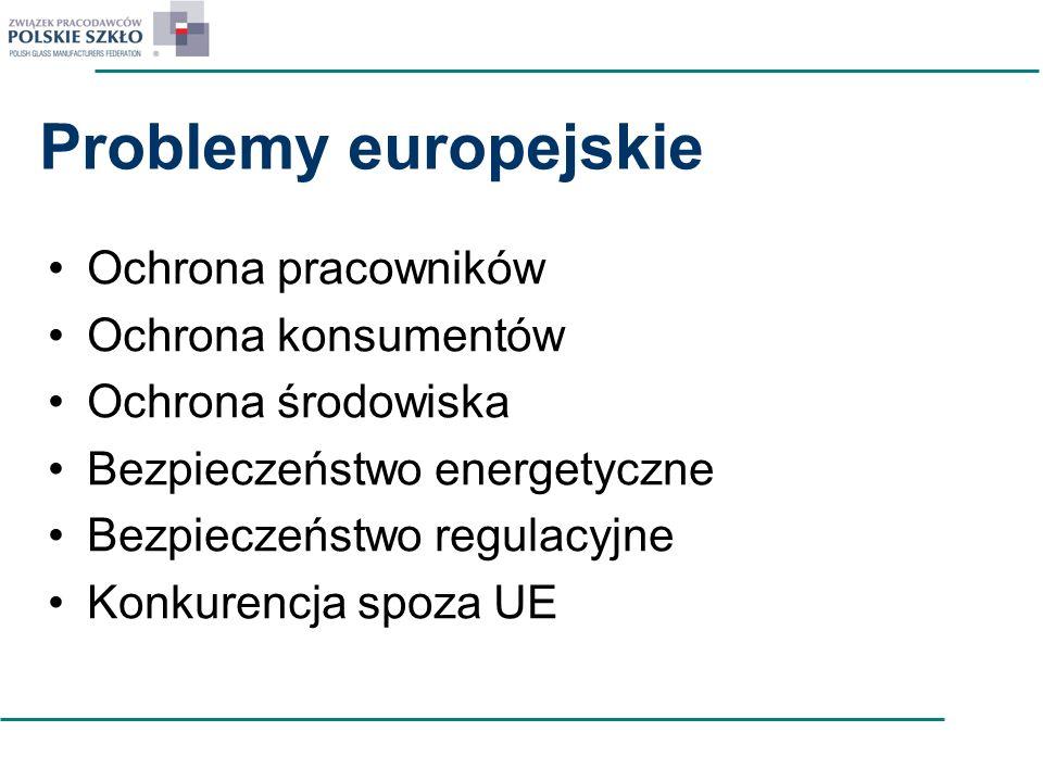 Problemy europejskie Ochrona pracowników Ochrona konsumentów