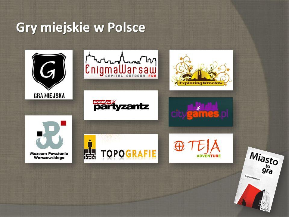 Gry miejskie w Polsce