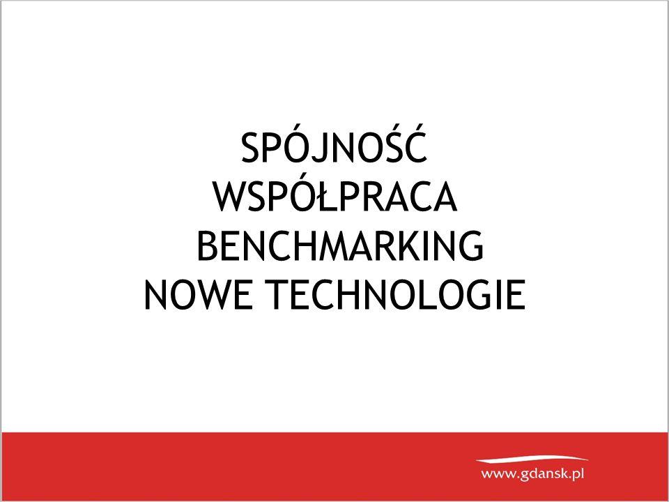 SPÓJNOŚĆ WSPÓŁPRACA BENCHMARKING NOWE TECHNOLOGIE