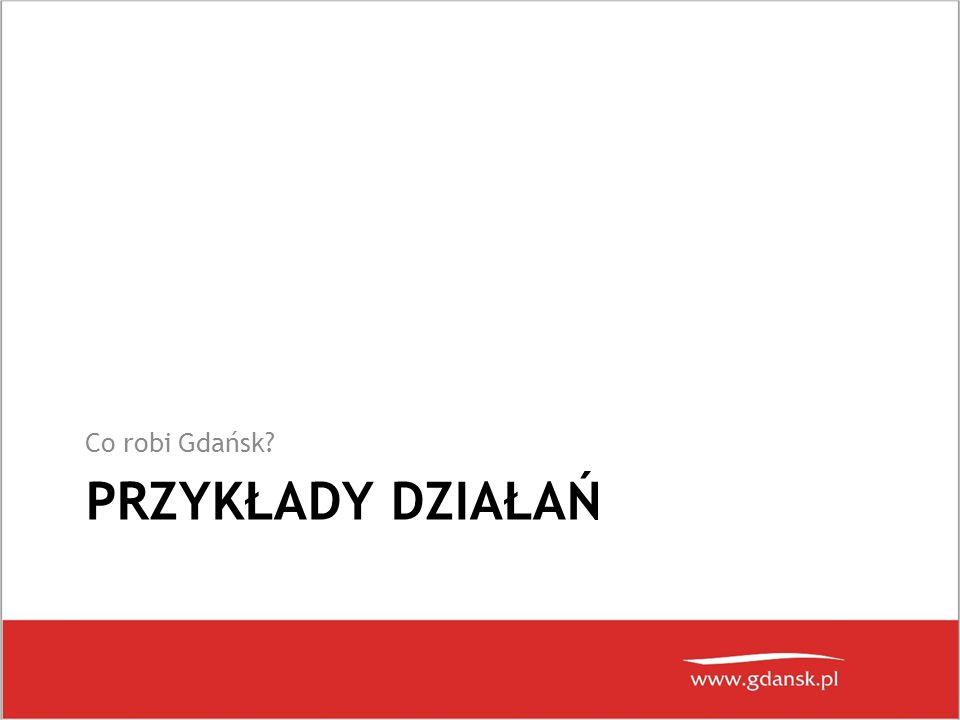 Co robi Gdańsk Przykłady działań