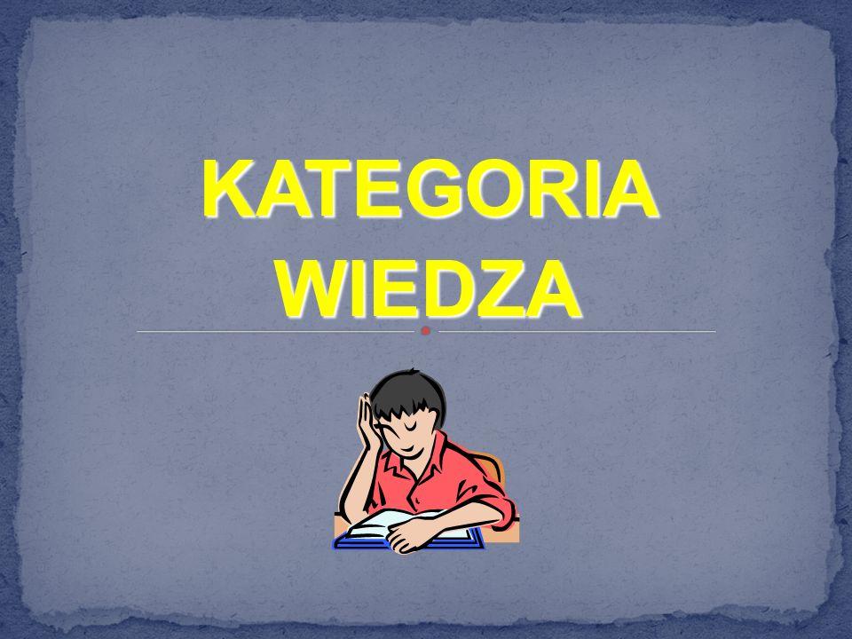 KATEGORIA WIEDZA