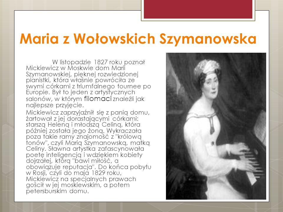 Maria z Wołowskich Szymanowska