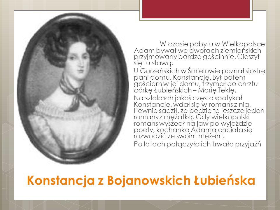 Konstancja z Bojanowskich Łubieńska