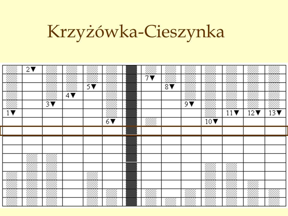 Krzyżówka-Cieszynka