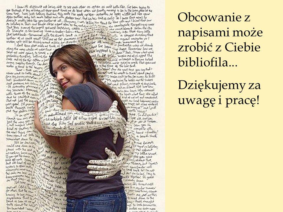 Obcowanie z napisami może zrobić z Ciebie bibliofila...
