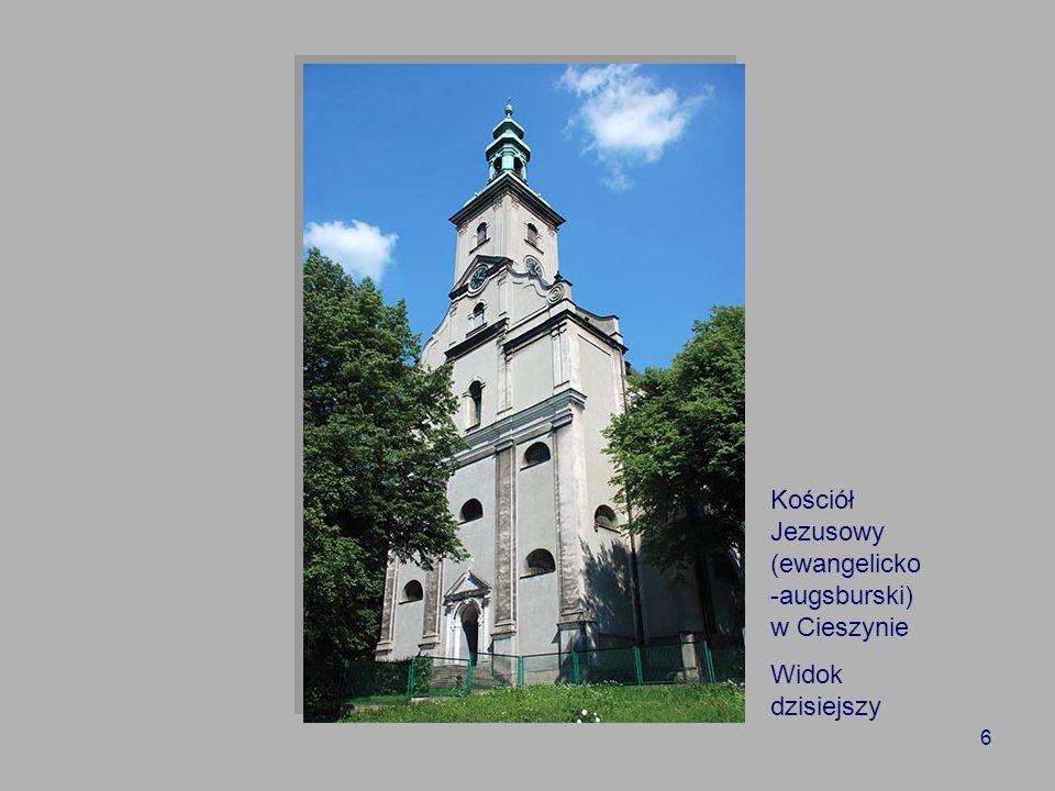 Kościół Jezusowy (ewangelicko-augsburski) w Cieszynie