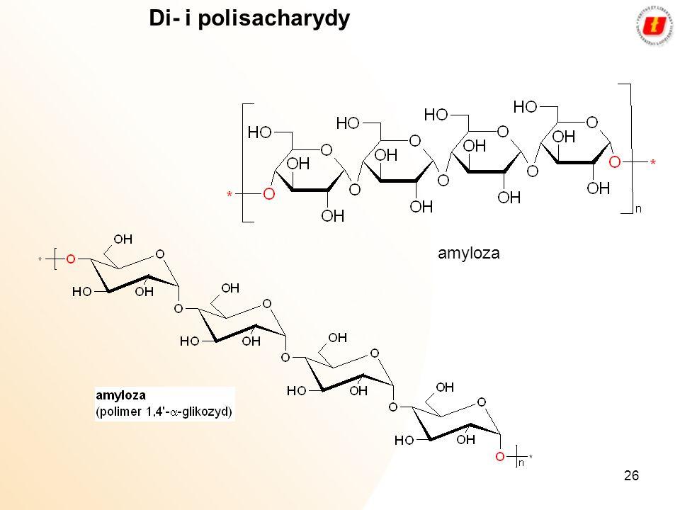 Di- i polisacharydy amyloza