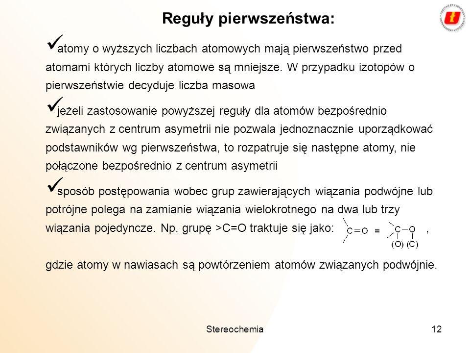 Reguły pierwszeństwa: