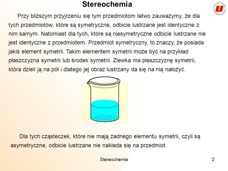 Stereochemia