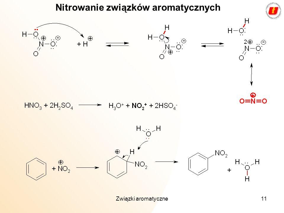 Nitrowanie związków aromatycznych