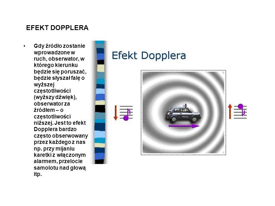 EFEKT DOPPLERA