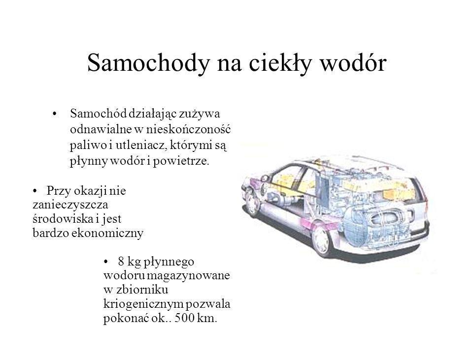 Samochody na ciekły wodór
