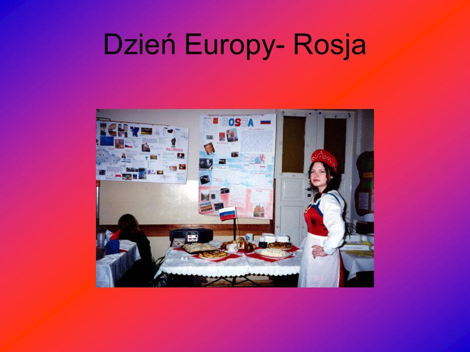 Dzień Europy- Rosja