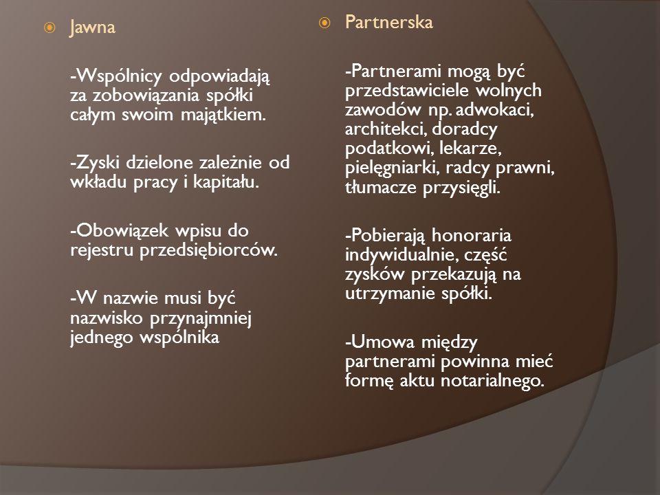 Partnerska