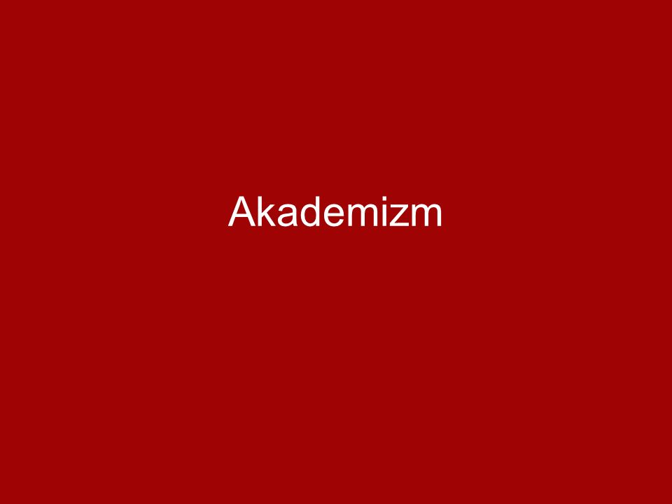 Akademizm
