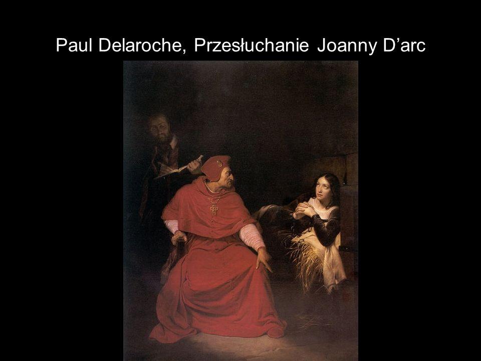 Paul Delaroche, Przesłuchanie Joanny D'arc