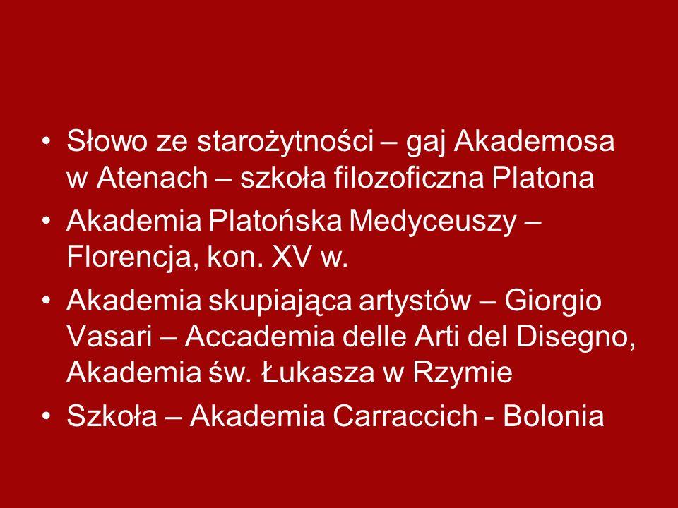 Słowo ze starożytności – gaj Akademosa w Atenach – szkoła filozoficzna Platona