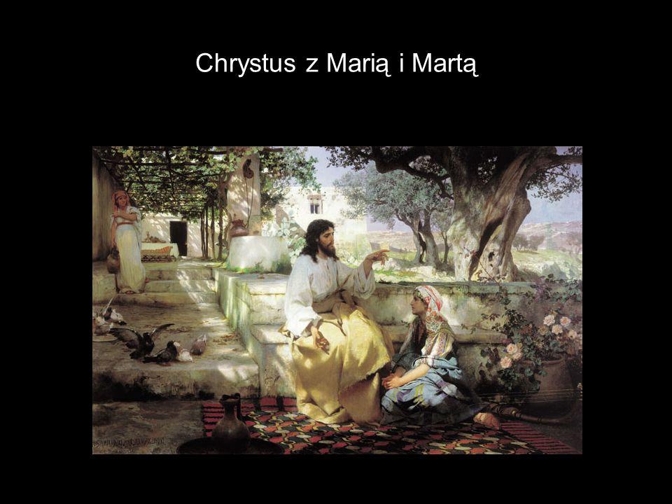 Chrystus z Marią i Martą
