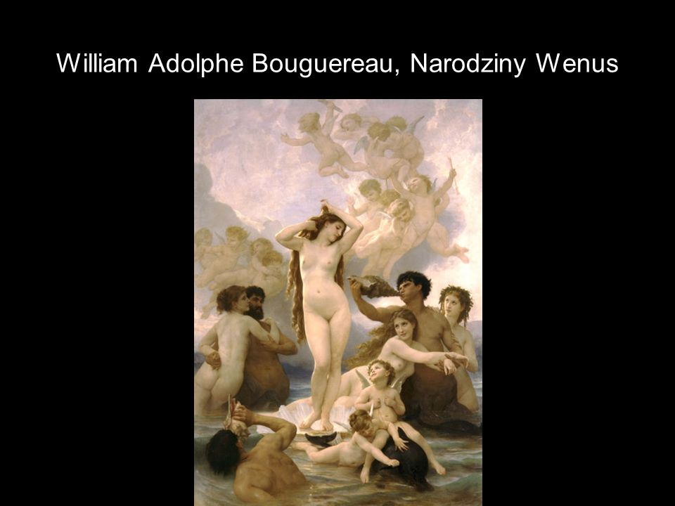 William Adolphe Bouguereau, Narodziny Wenus