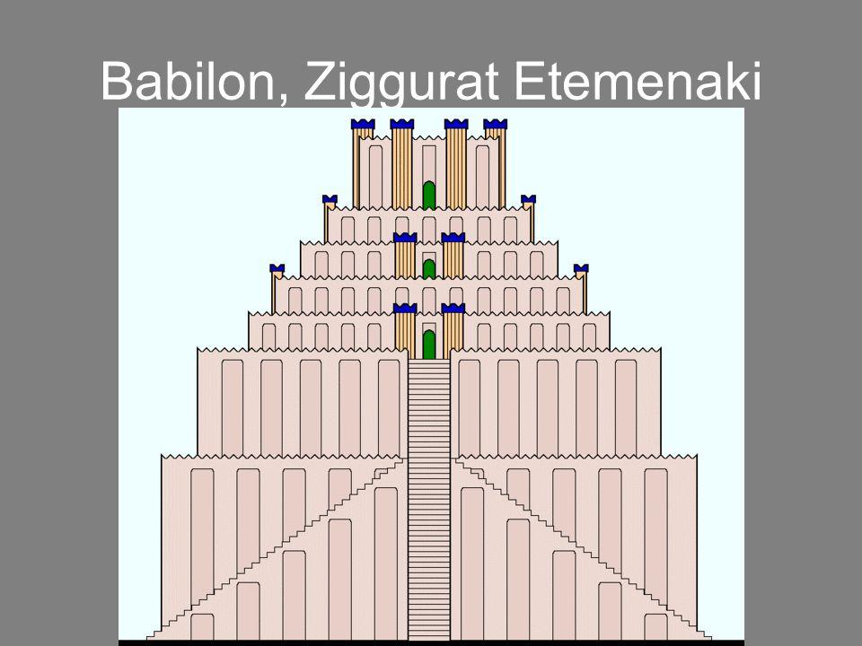 Babilon, Ziggurat Etemenaki