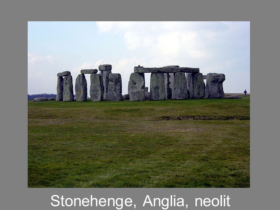 Stonehenge, Anglia, neolit