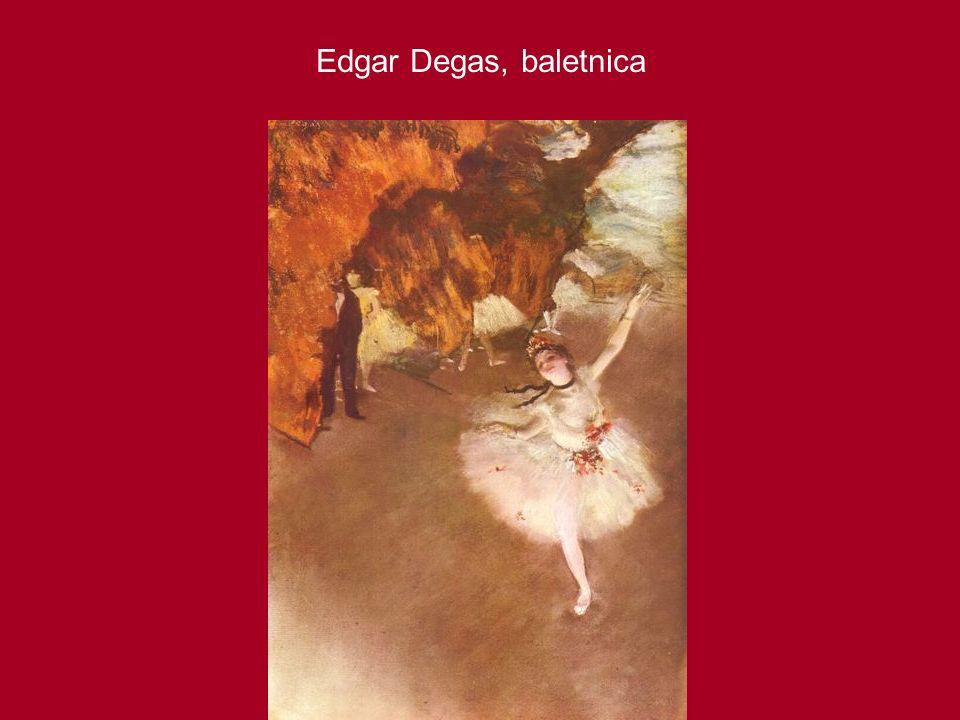 Edgar Degas, baletnica