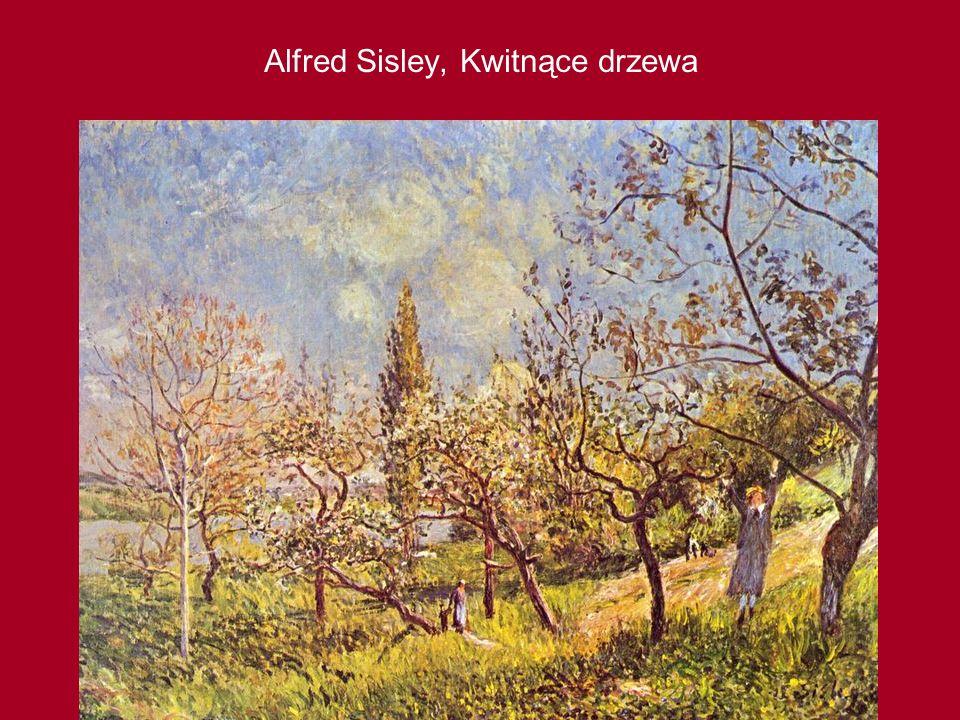 Alfred Sisley, Kwitnące drzewa