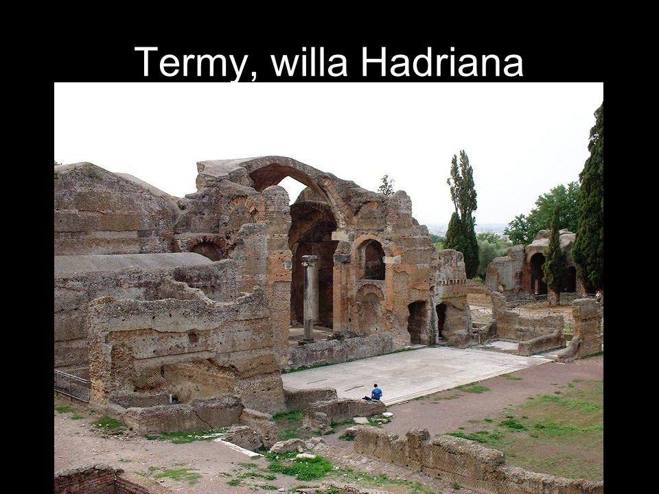 Termy, willa Hadriana