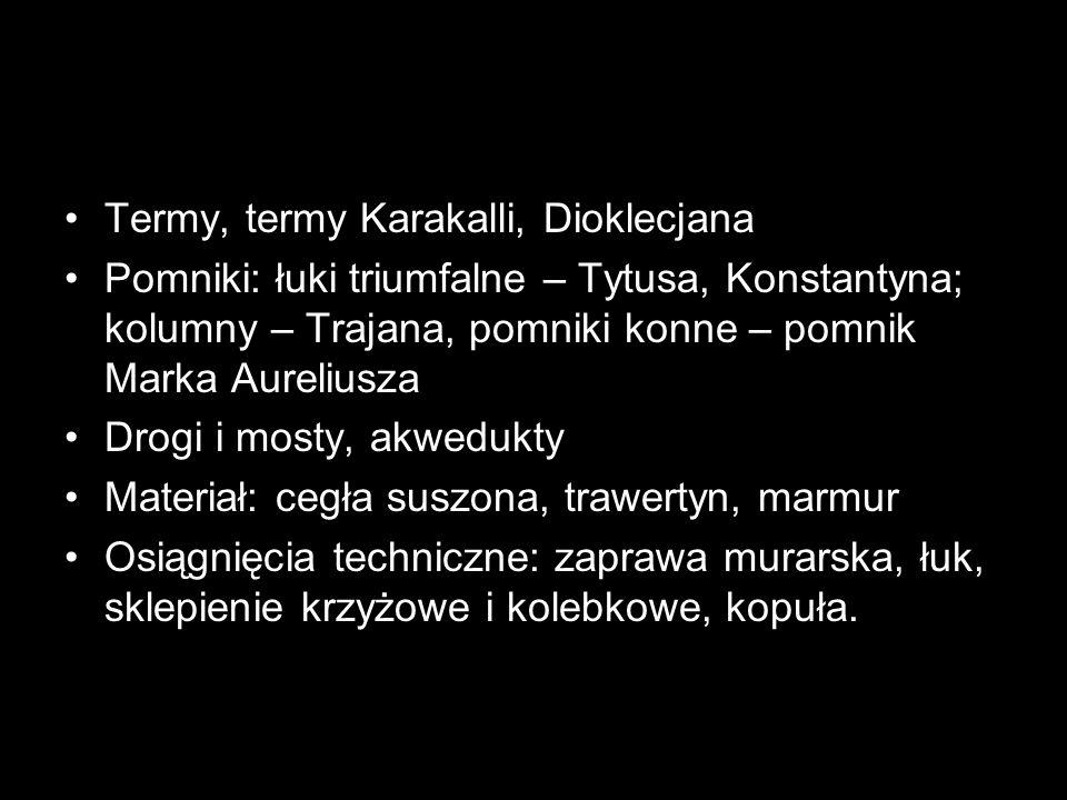 Termy, termy Karakalli, Dioklecjana