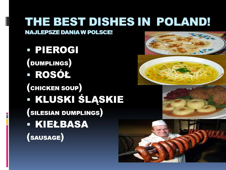 THE BEST DISHES IN POLAND! NAJLEPSZE DANIA W POLSCE!